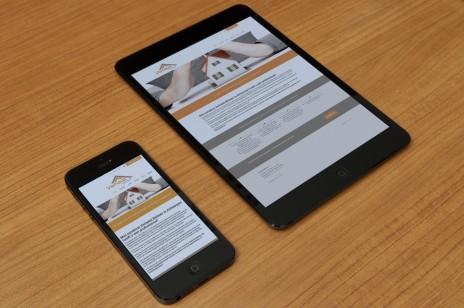 Verhelst Beheer responsive website webdesing